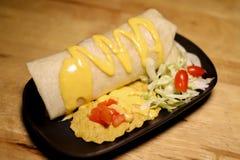 Molho Mexican American Tailândia do estilo do taco Imagens de Stock