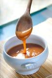 Molho mexicano do caramelo de Cajeta Fotos de Stock