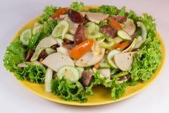 Molho picante da salsicha vietnamiana imagem de stock royalty free