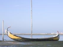 Moliceiro boat Stock Photo