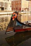 Moliceiro boat in Aveiro Stock Image