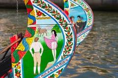 Moliceiro boat Royalty Free Stock Image