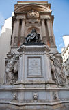 Moliere statue in paris france Stock Photo