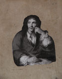 Moliere on a wall Royalty Free Stock Photos