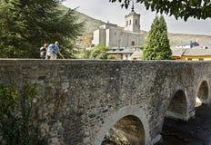 Molinaseca Bridge Stock Photos