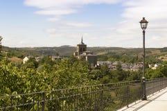 Molinaseca cityscape in Castilla y Leon Stock Photo