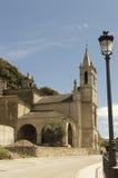 Molinaseca cityscape in Castilla y Leon Stock Image