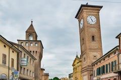 Molinella, emilia, Włochy Obrazy Royalty Free