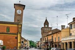 Molinella, emilia, Włochy Zdjęcia Stock