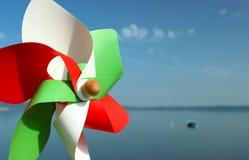 Molinillo de viento italiano Imágenes de archivo libres de regalías