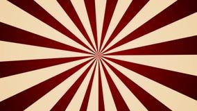 Molinillo de viento que gira el lazo inconsútil del fondo del estilo abstracto del vintage almacen de metraje de vídeo