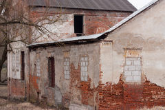 Molino abandonado Fotografía de archivo