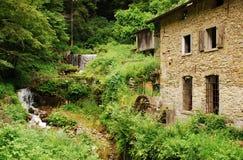Molino abandonado cerca de Salino Foto de archivo libre de regalías