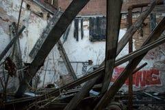 Molino abandonado en Newry, SC Fotos de archivo libres de regalías