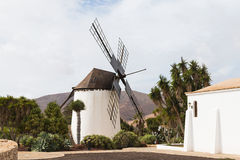 Molino de Antigua, Fuerteventura Royalty Free Stock Photo