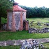 Molino de azúcar Diego Caballero, República Dominicana de Nigua Imagenes de archivo