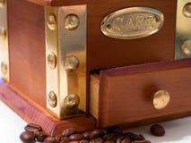 Molino de café Foto de archivo libre de regalías