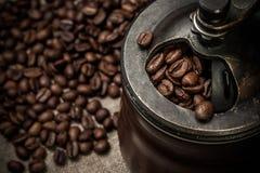 Molino de café Fotografía de archivo libre de regalías