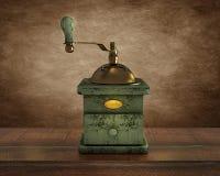 Molino de café de madera viejo libre illustration
