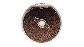 Molino de café eléctrico almacen de metraje de vídeo
