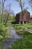 Molino de John Adams en Indiana Fotografía de archivo