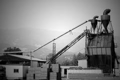 Molino de la madera de construcción de Ukiah California Imagenes de archivo