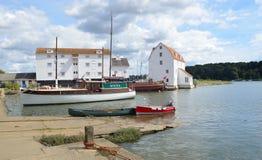 Molino de la marea de Woodbridge Imagenes de archivo