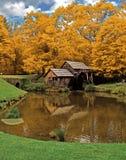Molino de Mabry en otoño imágenes de archivo libres de regalías