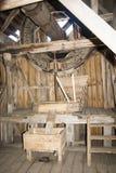 Molino de madera viejo foto de archivo