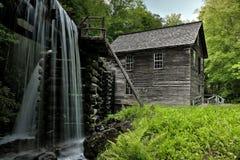 Molino de Mingus del parque nacional de Great Smoky Mountains Foto de archivo libre de regalías