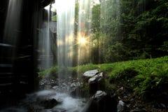 Molino de Mingus en gran parque nacional de la montaña ahumada Imagen de archivo libre de regalías