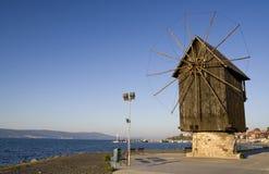Molino de Nesebar (paisaje) Imagen de archivo