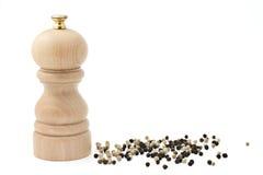 Molino de pimienta Imagen de archivo libre de regalías