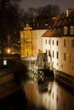 Molino de Praga Certovka Fotos de archivo libres de regalías
