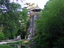 Molino De Thea Thea młynu punkt widzenia i naturalny teren zdjęcie stock