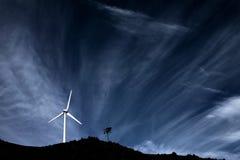 Molino de viento Foto de archivo libre de regalías