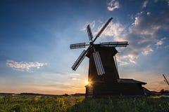 Molino de viento Fotos de archivo
