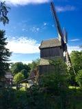 Molino de viento alemán Imagen de archivo libre de regalías