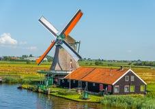 Molino de viento Amsterdam foto de archivo