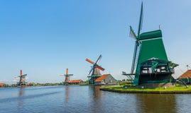 Molino de viento Amsterdam imagen de archivo