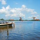 Molino de viento Amsterdam imagen de archivo libre de regalías