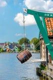 Molino de viento Amsterdam fotos de archivo
