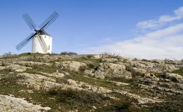 Molino de viento antiguo Foto de archivo