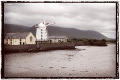 Molino de viento de Blennervill en el condado Kerry Fotografía de archivo libre de regalías