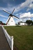 Molino de viento cerca de Aarsdale, Bornholms Imágenes de archivo libres de regalías