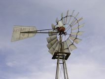 Molino de viento de Aermotor Imagen de archivo libre de regalías