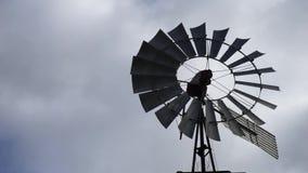 Molino de viento de giro almacen de video