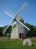 Molino de viento de Jamestown RI Imagenes de archivo