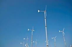 Molino de viento de la turbina Imagen de archivo libre de regalías