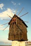 Molino de viento de Nesebar Imagen de archivo libre de regalías